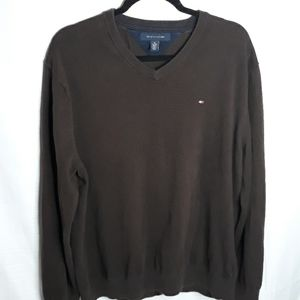 Brown Tommy Hilfiger sweater